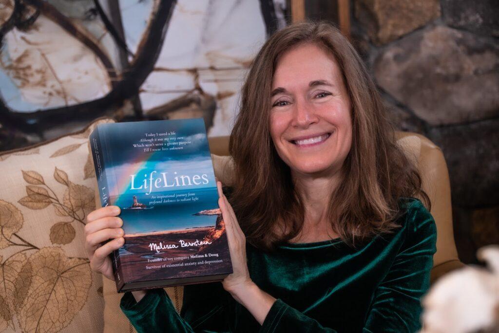 Melissa with LifeLines book