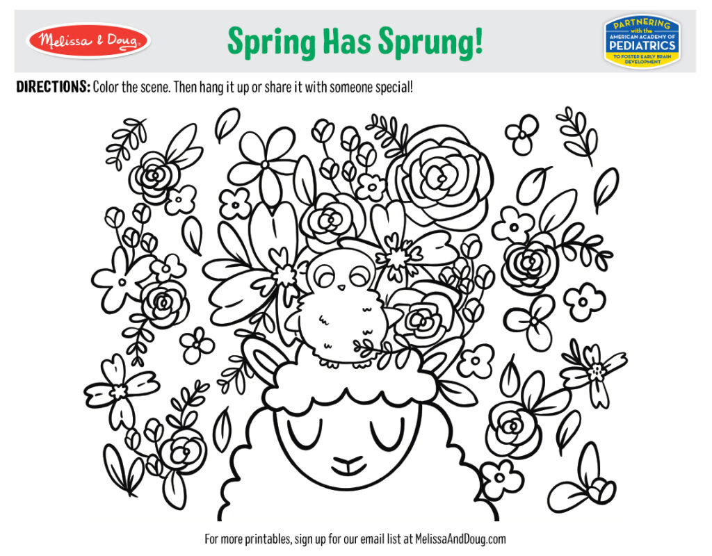Printable - Spring Has Sprung! Activity