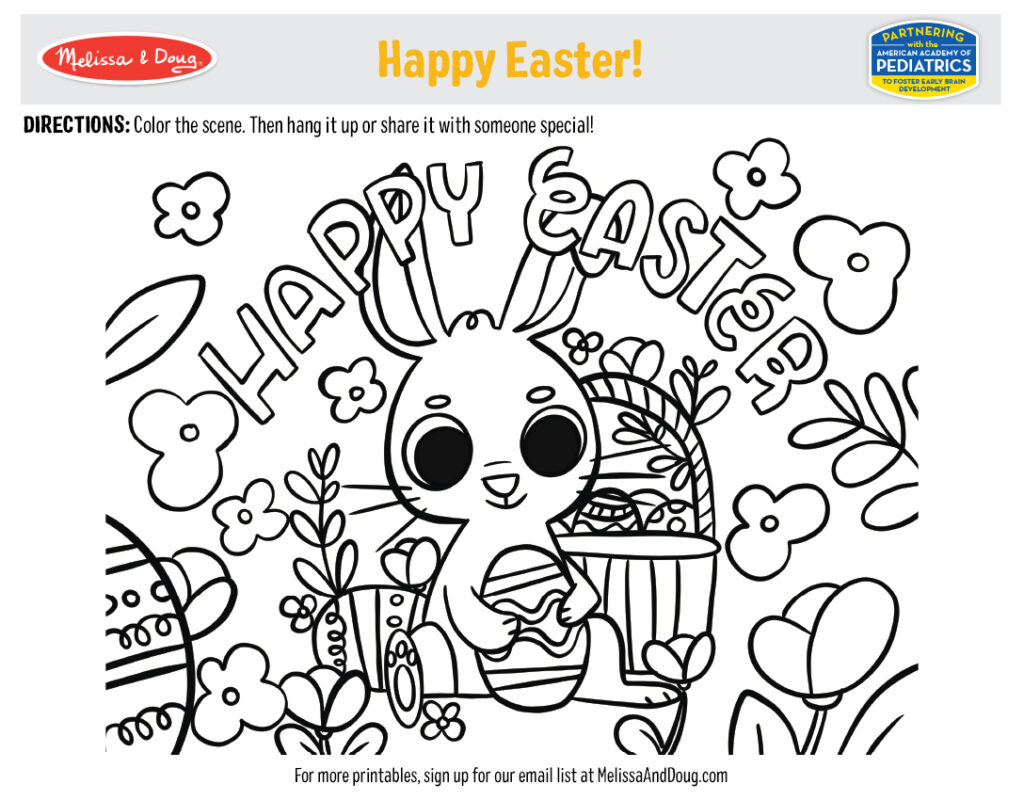 Printable - Happy Easter! Activity