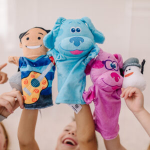 Blue's Clue's & You! Hand & Finger Puppets
