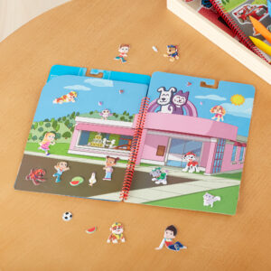 PAW Patrol™ Restickable Puffy Stickers - Adventure Bay