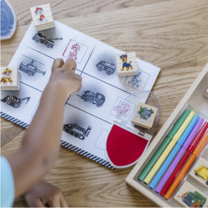 PAW Patrol™ Wooden Stamps Activity Set