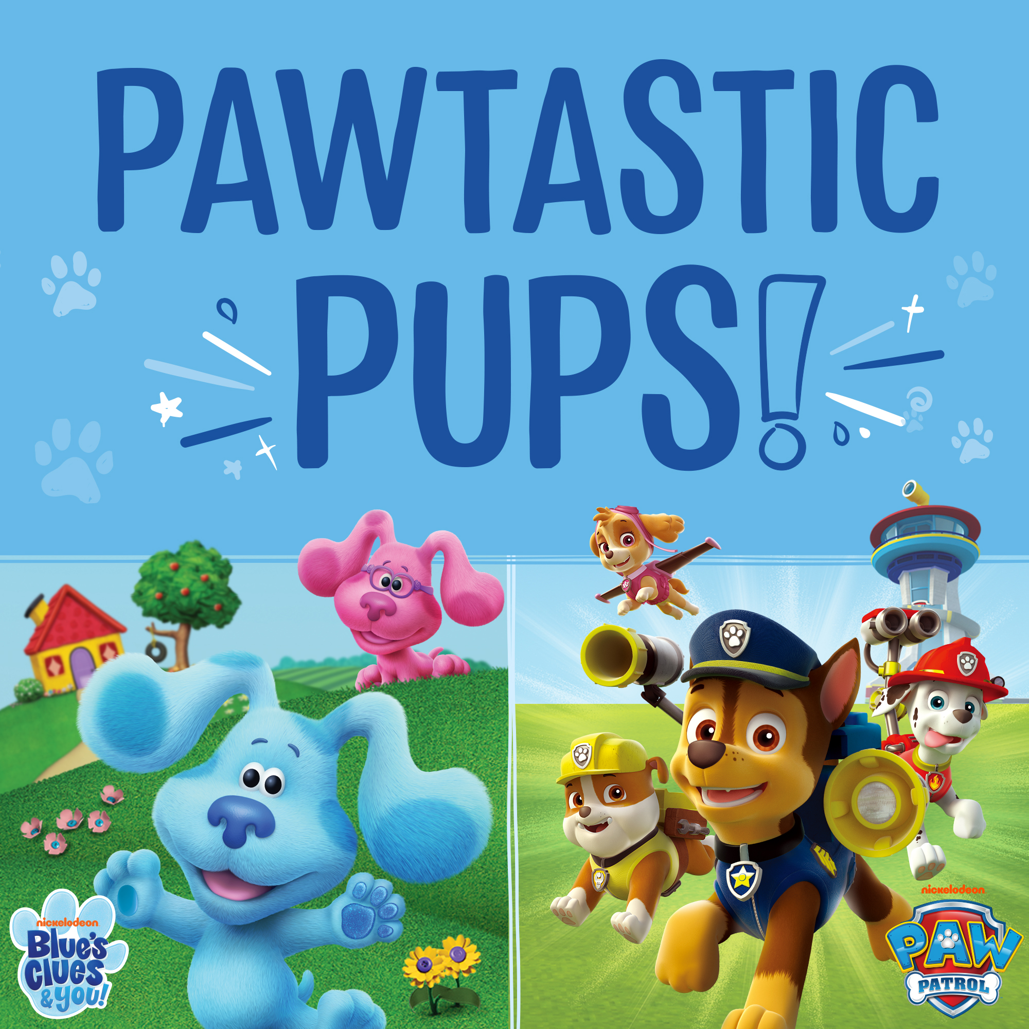 SNEAK PEEK: New PAW Patrol™ and <i>Blue's Clues & You! </i>Toys Coming Soon