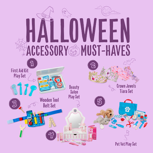 5 Ways to Dress Up Your Kids' Halloween Costumes with the Right Accessories
