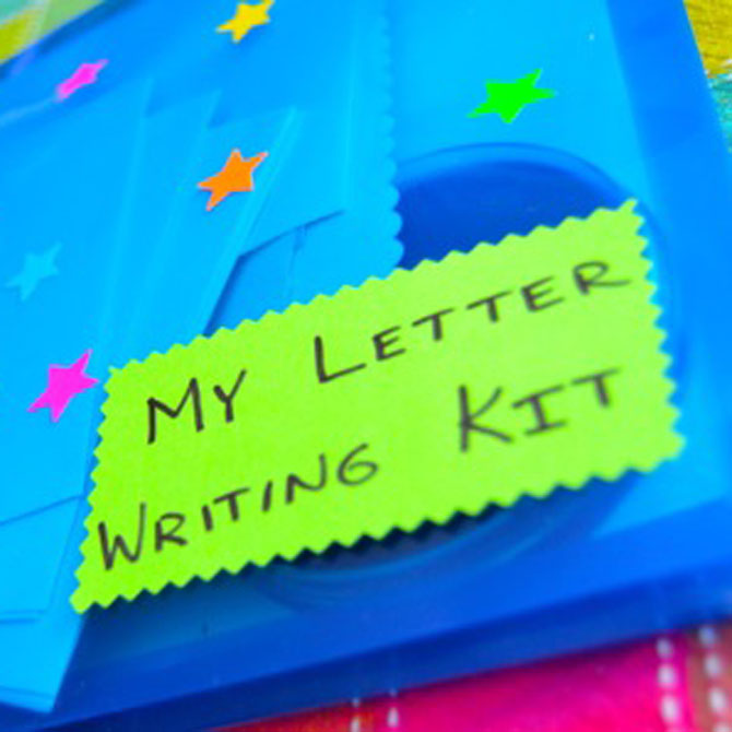 Val's Crafty Corner: DIY Letter-Writing Kit