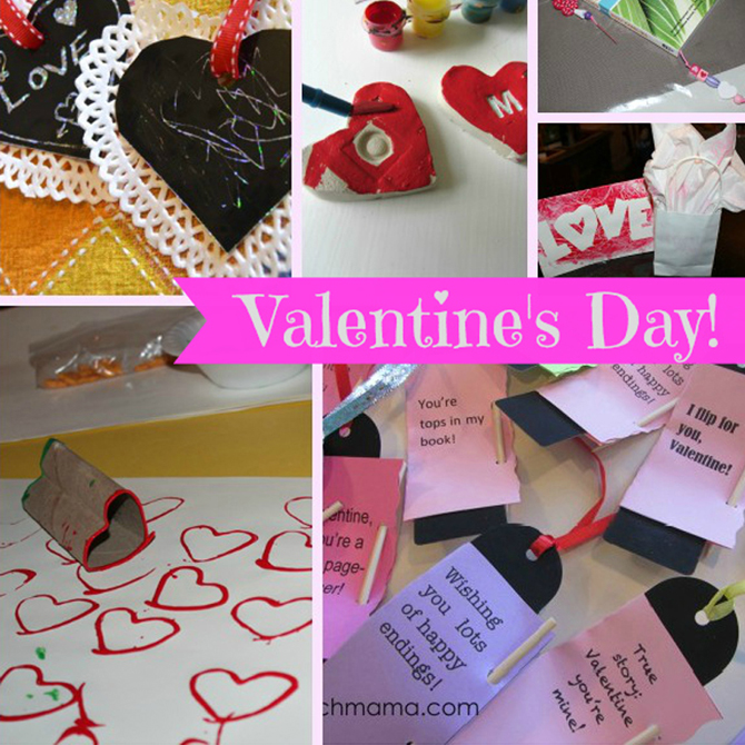 8 Creative Crafts for Valentine's Day: A Melissa & Doug Blog Round-Up!