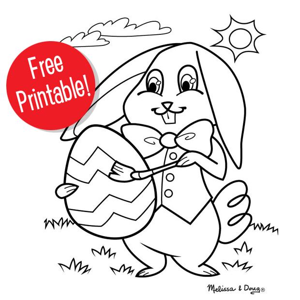 Easter Bunny Printable for Kids
