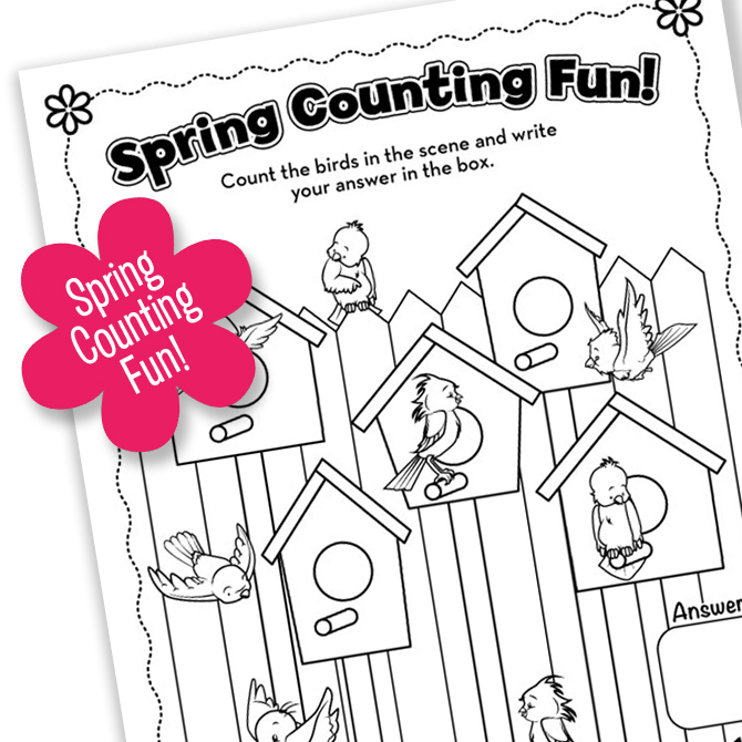 Spring Printable FUN! Part Two
