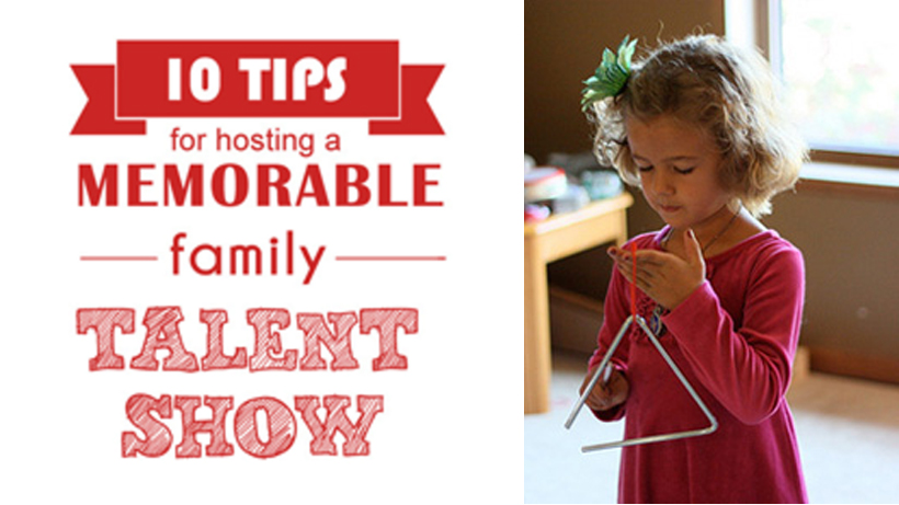 10 Tips for a Memorable Family Talent Show | Melissa & Doug Blog