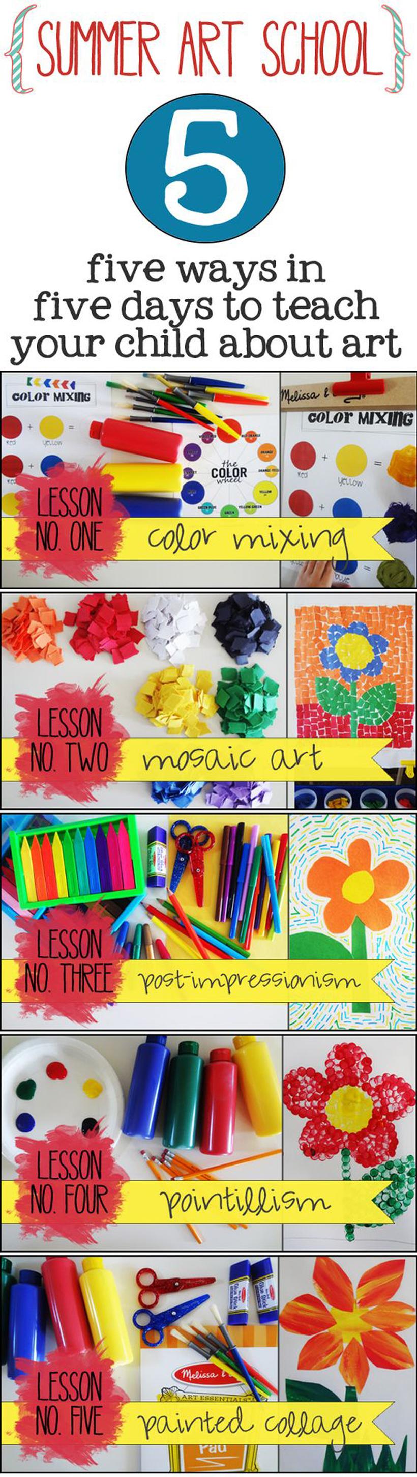 5 Art Appreciation Lessons for Summer Learning | Melissa
