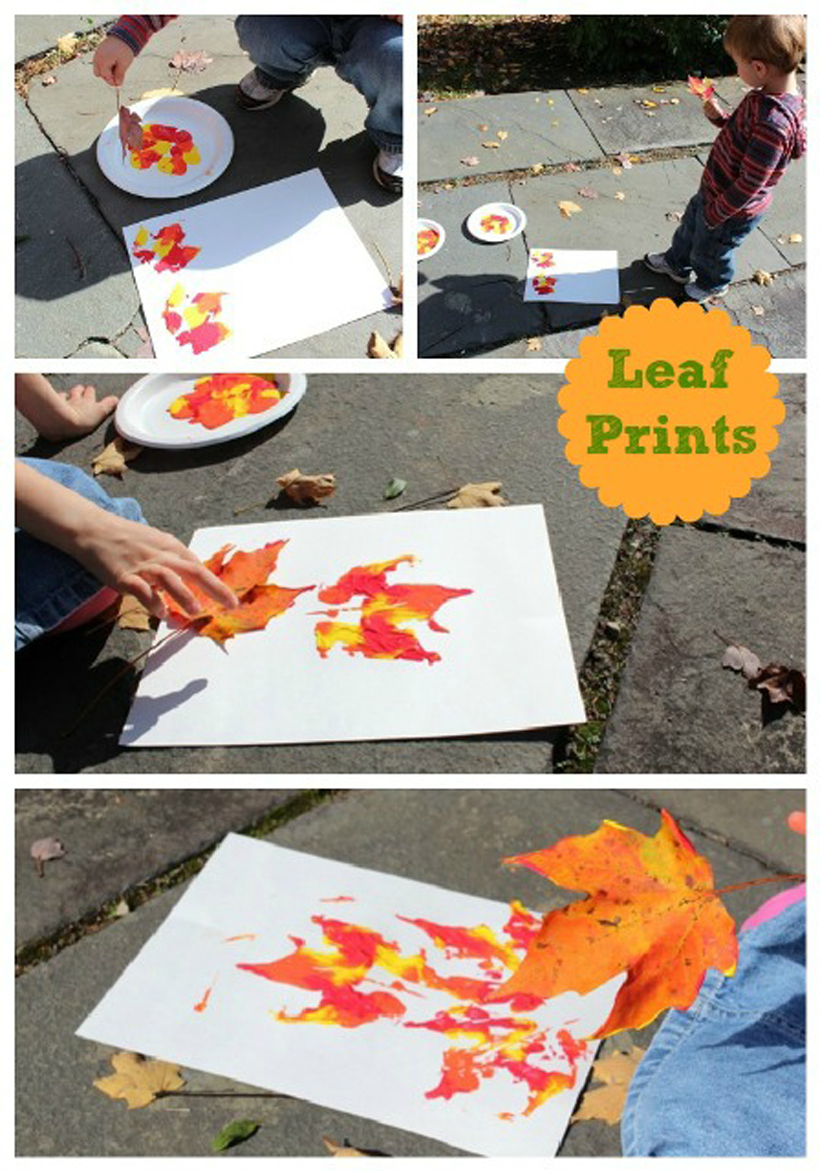 5 fun fall activities to embrace before winter leaf prints