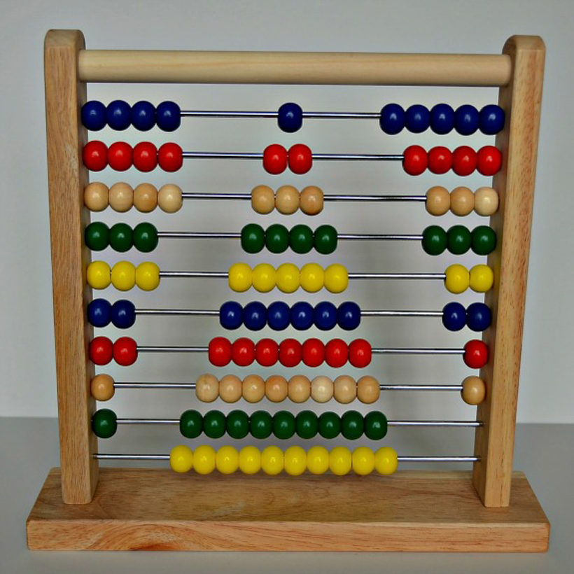 back to basics using an abacus to teach patterns