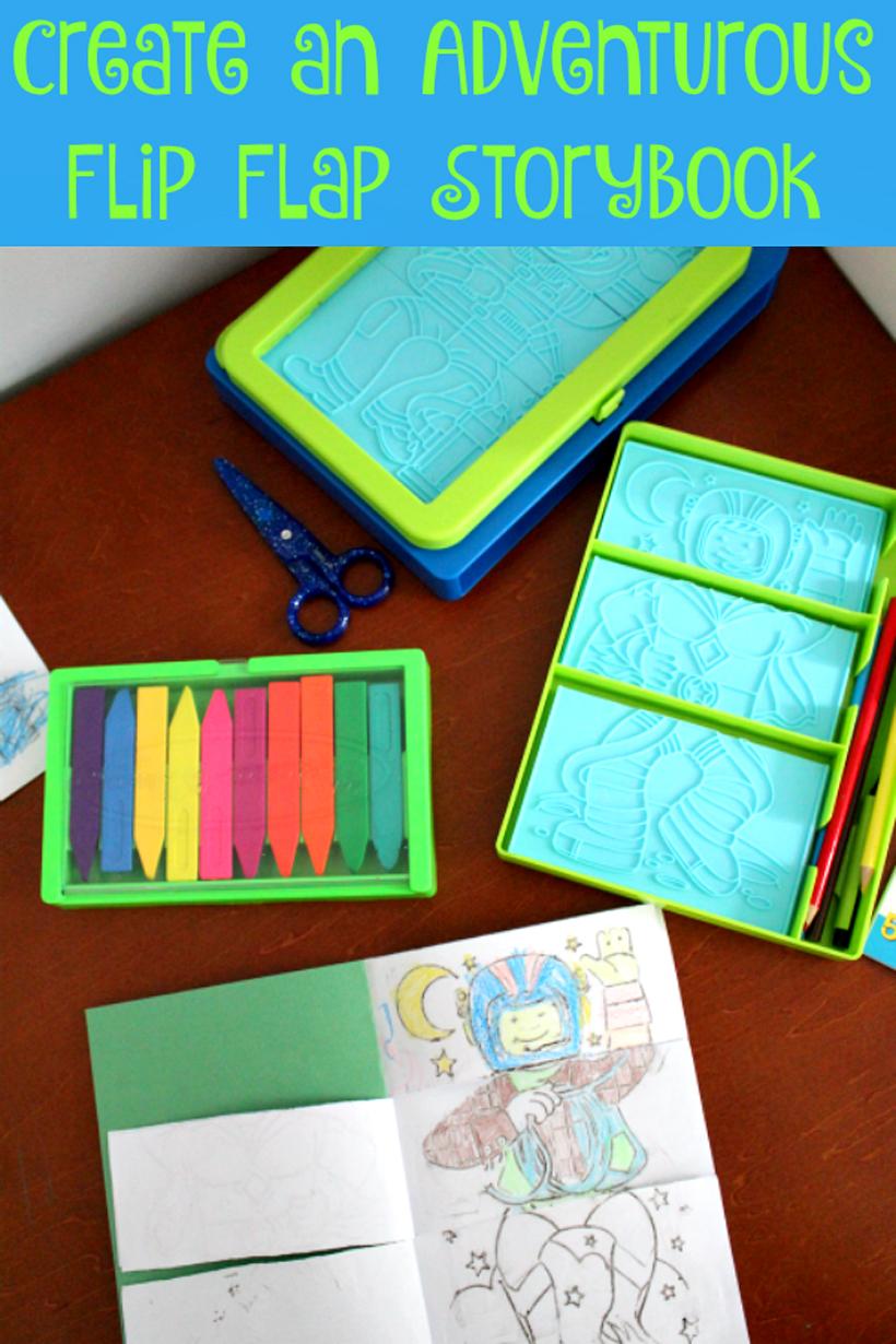Create An Adventure Flip Flap Book Melissa Amp Doug Blog