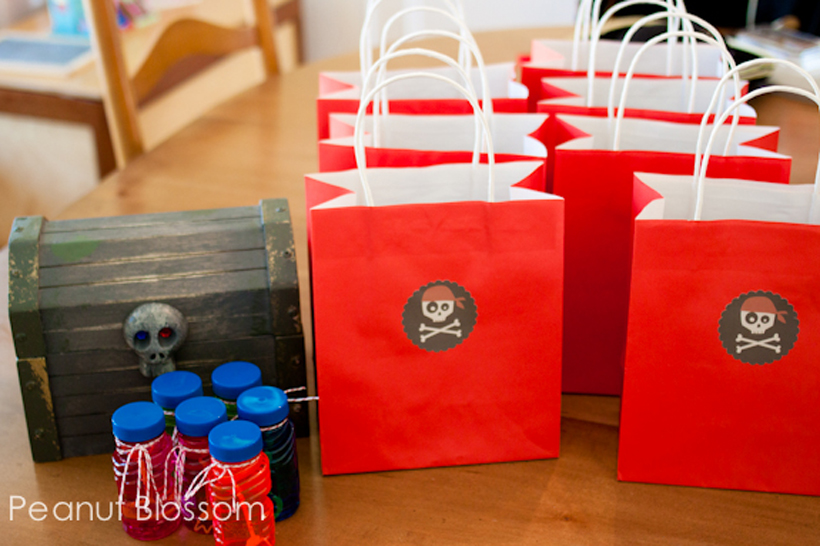games & goodies pirate party favors
