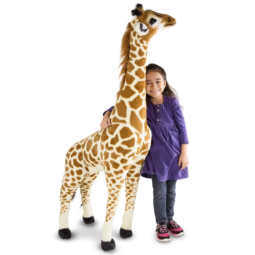 Giant Stuffed Animals Go On Safari