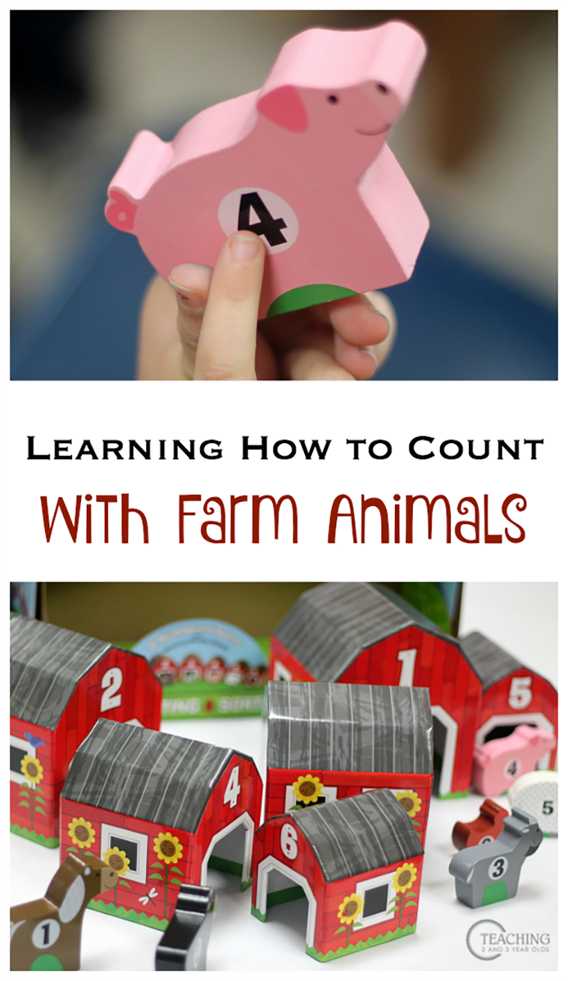 Learn How to Count with Animals