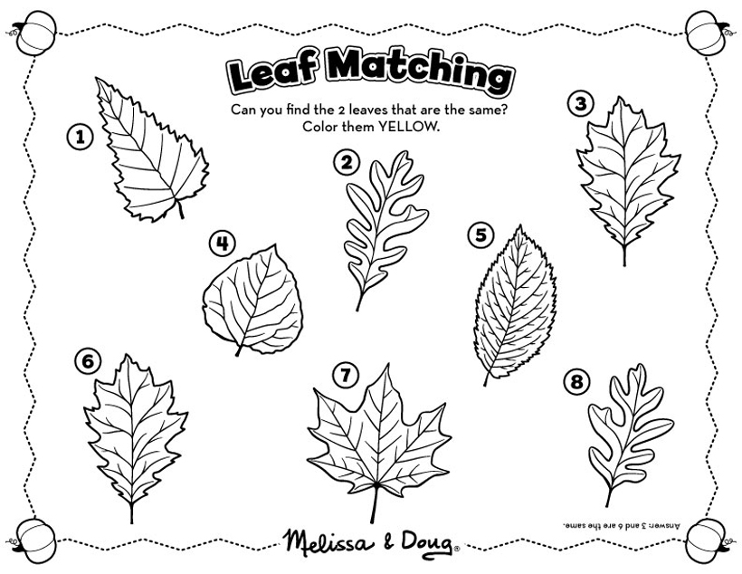 picture regarding Fall Printable Activities identified as Slide Matching Sport for Little ones - Printable Recreation