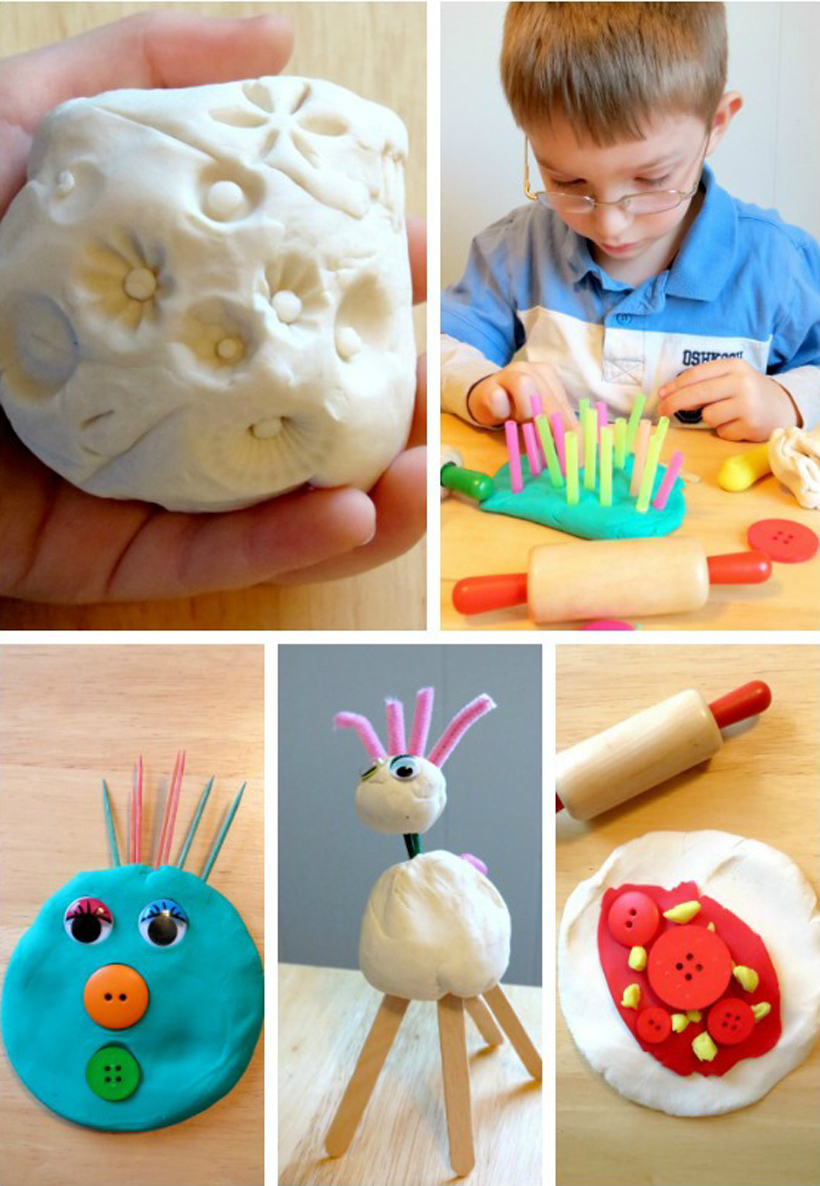 Play Prompts Play Dough Creation Station