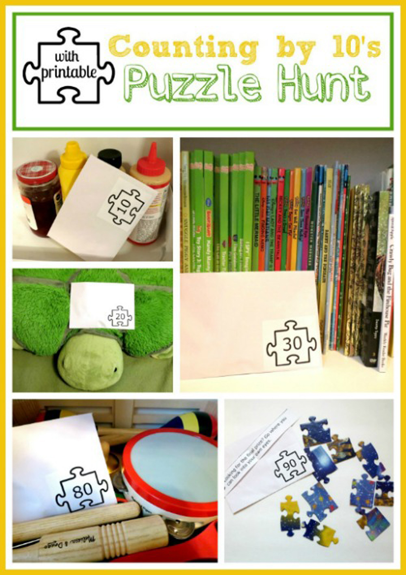 puzzle play counting by 10s puzzle hunt