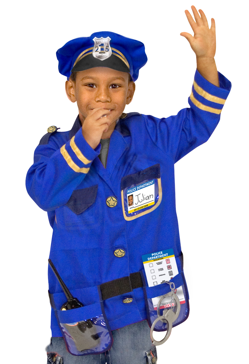 Career Day for Kids Police Officer