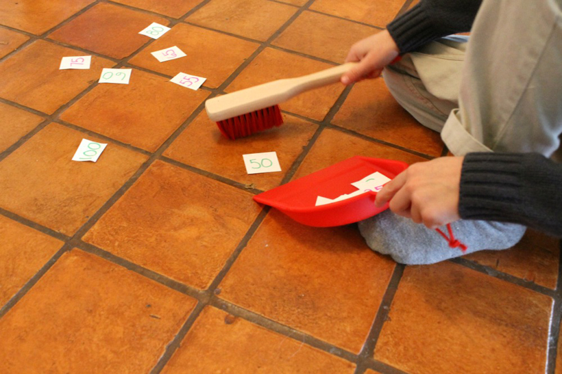 sweeping up numbers