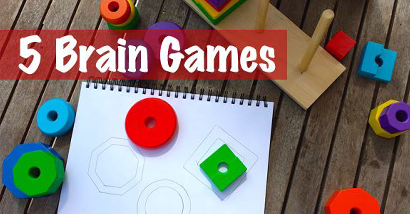 5 brain games for kids