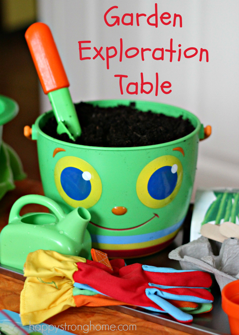A Garden Exploration Table
