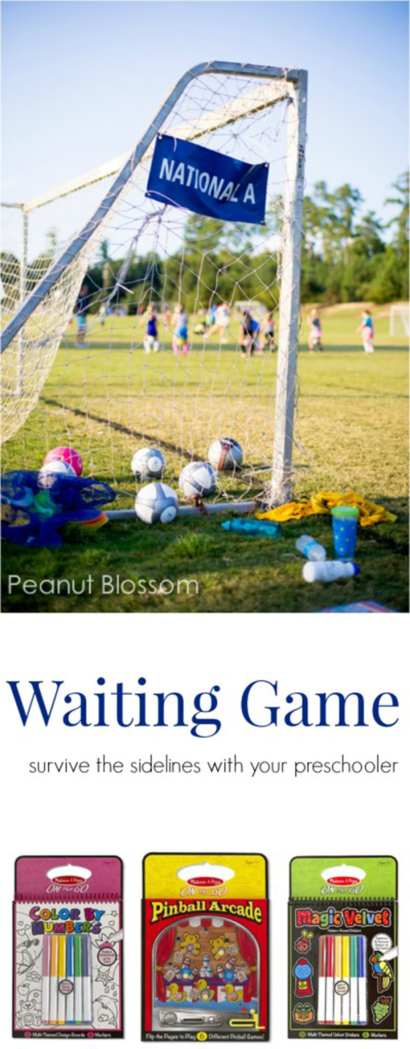 Surviving the Sidelines portable games for kids