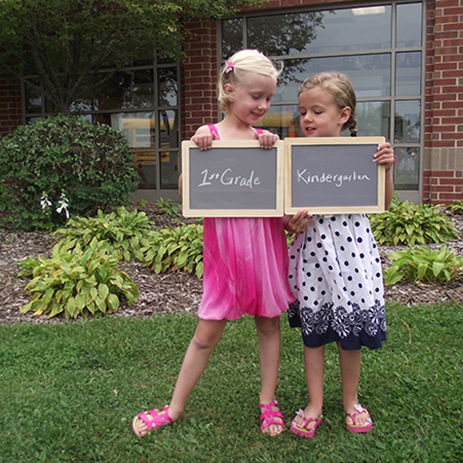 Capturing Childhood: First Day of School Photos
