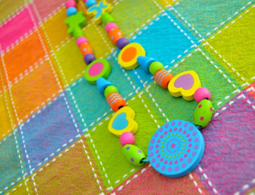 Val's Crafty Corner Beaded Necklaces for Mom