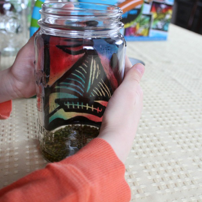 How to Make A Simple Sun Catcher Terrarium