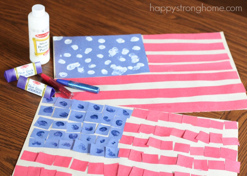 Celebrate with Paper Patriotic Crafts