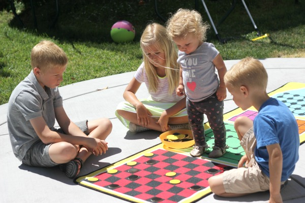 Game mat for kids