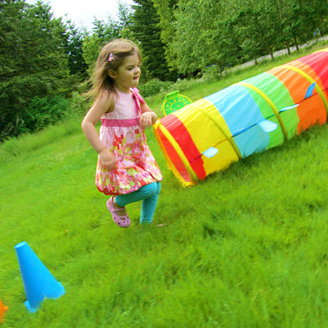 Build & Play Obstacle Course