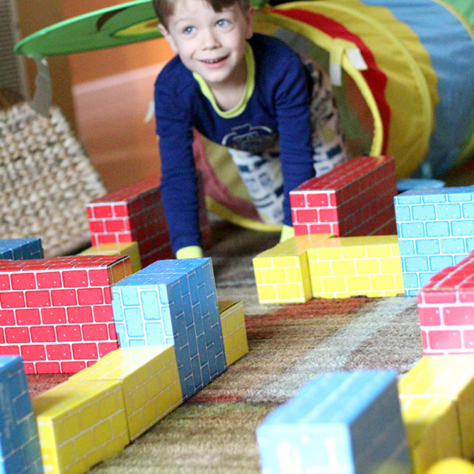 Rainy Day Block Maze Activity!