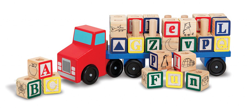 Playtime with Toy Vehicles for Girls and Boys *Read about wooden vehicles that become favorite toys for many girls and boys on the Melissa & Doug Blog.