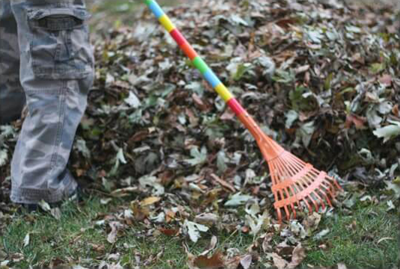 4 Sensory Benefits of Leaf Play: Outdoor Fall Activities *Read about 4 sensory benefits found from a romp in your best pile of leaves this fall on the Melissa & Doug Blog.