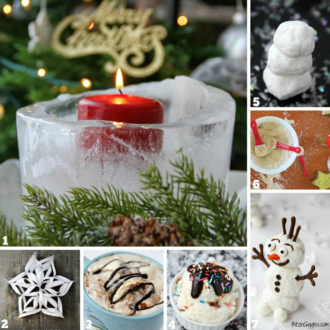 The Family Kitchen: 7 Snow-Inspired Recipes & Activities