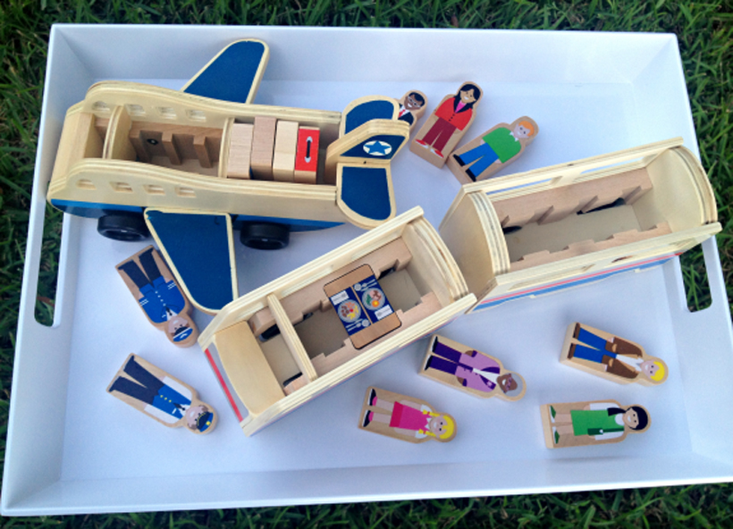 "Tips for Selecting Wooden Vehicles for Girls and Boys *Check out tips for finding just the ""right"" vehicle toy for girls and boys to enjoy, on the Melissa & Doug Blog."
