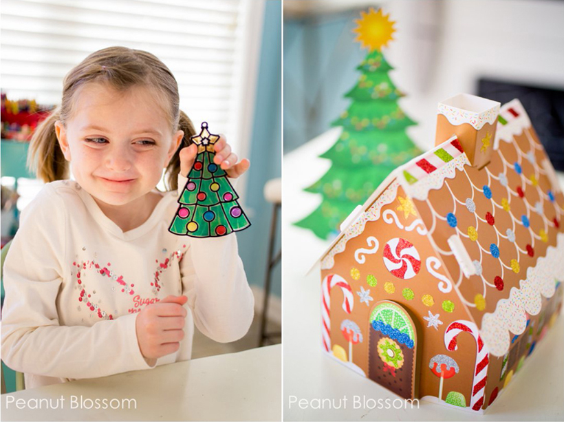 8 Simple Mess-Free Christmas Crafts for Kids *See 8 simple ways to enjoy mess-free Christmas crafts for kids, on the Melissa & Doug Blog.