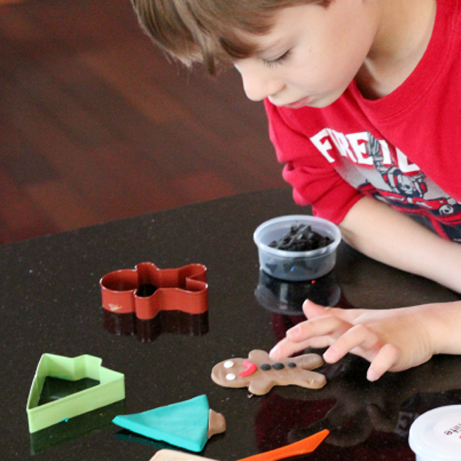 Crafting in Clay: Handmade Christmas Ornaments