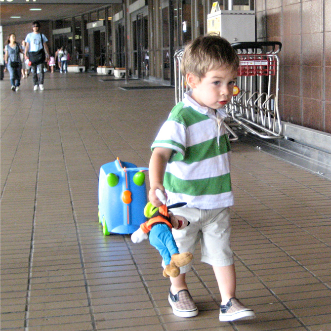 Holiday Travel Recap: Tips for Traveling with Toddlers