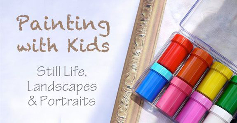 Painting with Kids: Still Life, Landscapes, and Portraits *Learn about 5 painting activities that teach kids how to recreate things they see, on the Melissa & Doug Blog.