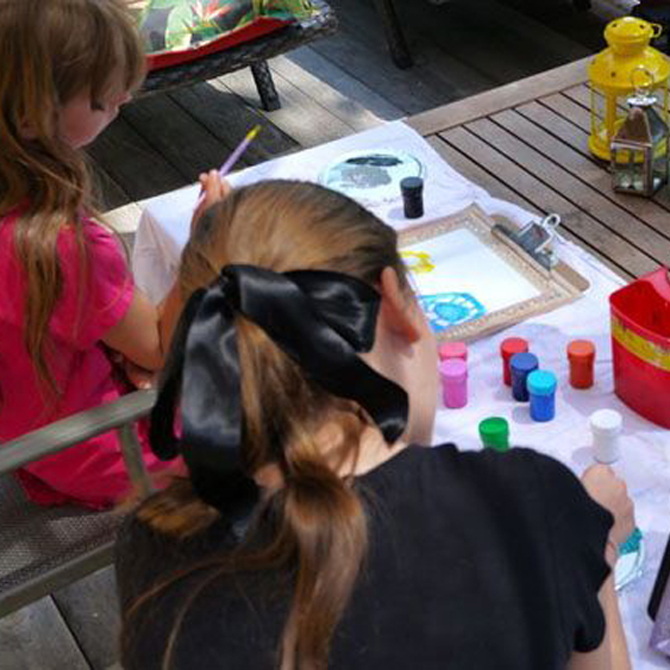 Painting with Kids: Still Life, Landscapes, and Portraits