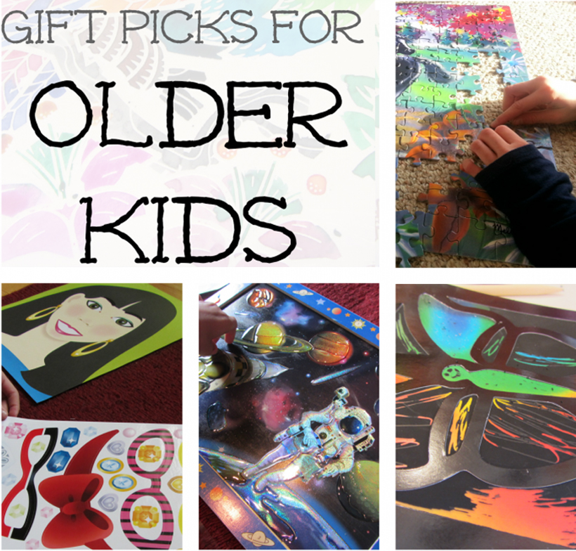 Top Gift Picks for Older Kids (ages 8 years and up) *Learn about some top gift picks for older children, ages 8 years old and up, on the Melissa & Doug Blog.