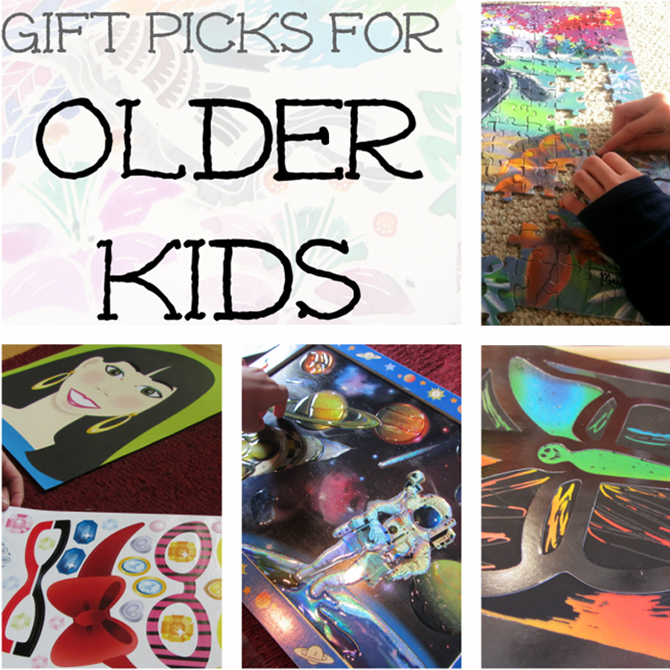 Top Gift Picks for Older Kids (ages 8 years and up)