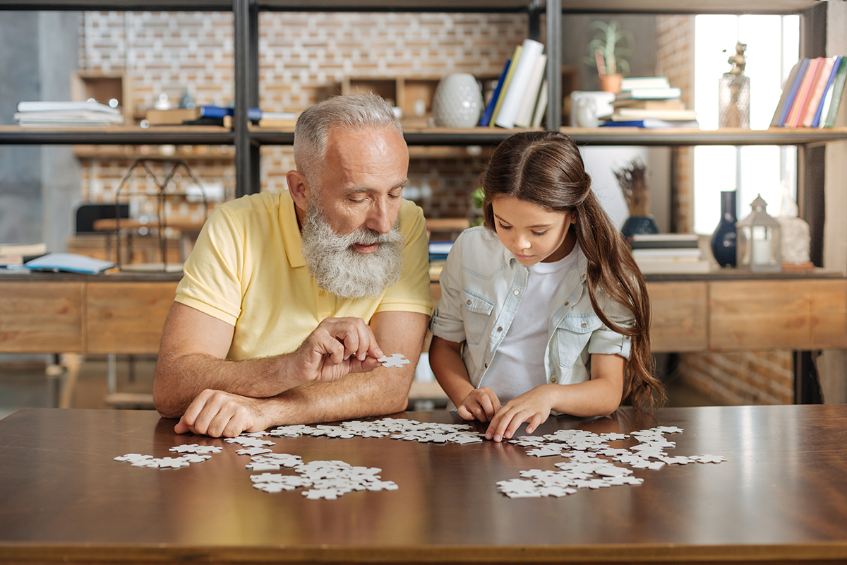 Play a Family Game or Work on a Puzzle Together Family games get the whole family together in such a fun and engaging way to build connection and laughter.