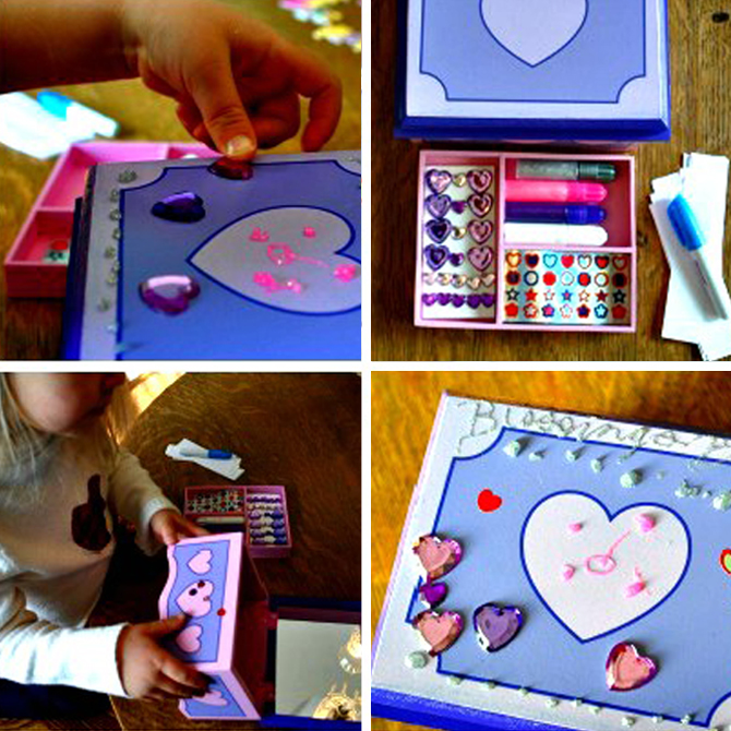New Year's Activity: DIY Blessing Box