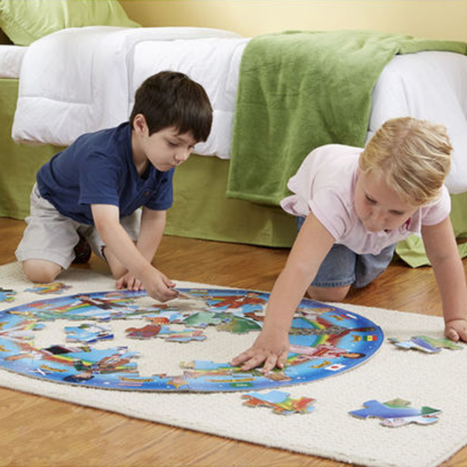 3 Ways to Play with Floor Puzzles for Extra Fun!