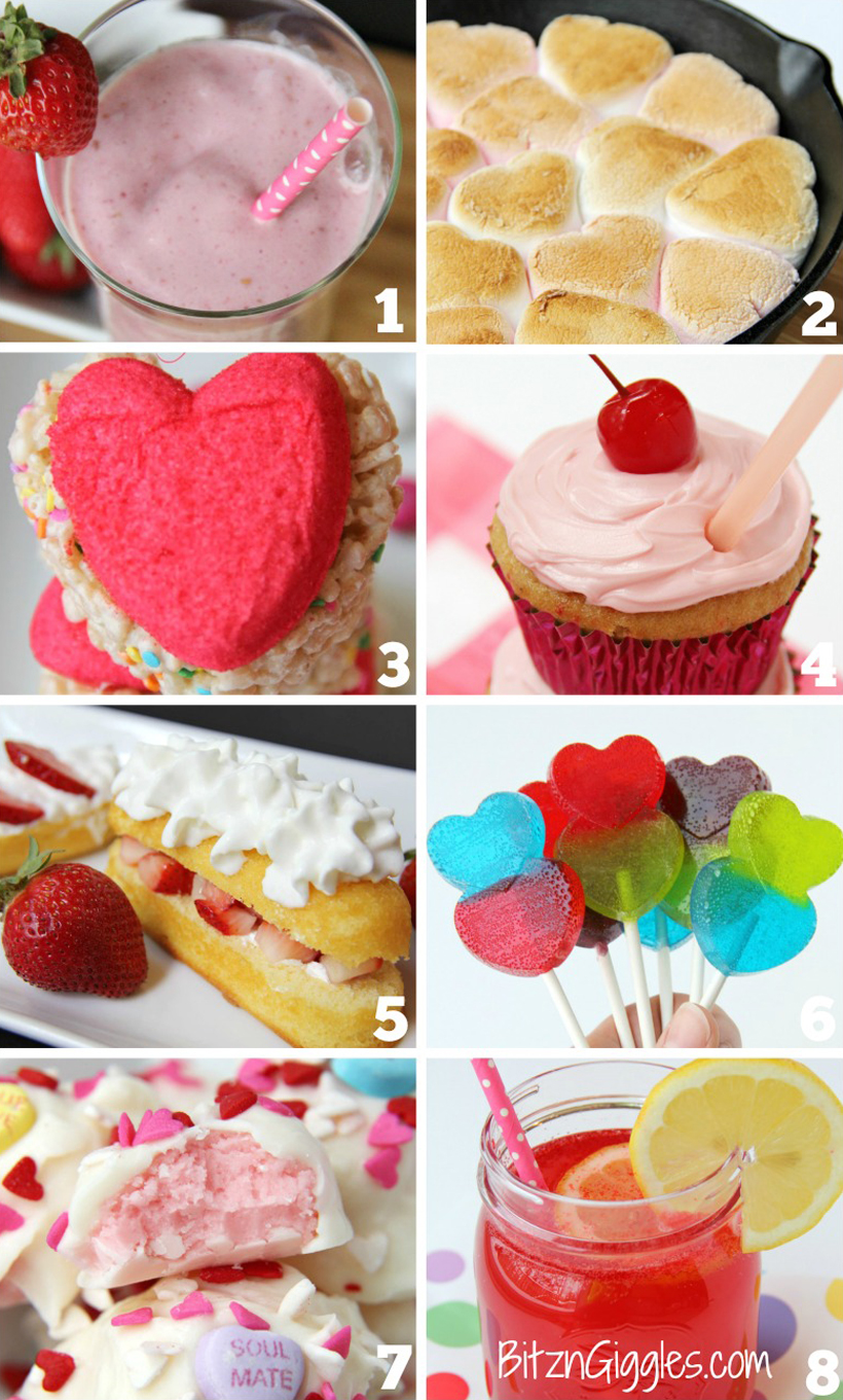 8 Easy Valentine's Day Treats for Kids *Get 8 family-friendly recipes for easy-to-make Valentine's Day treats for kids on the Melissa & Doug Blog.